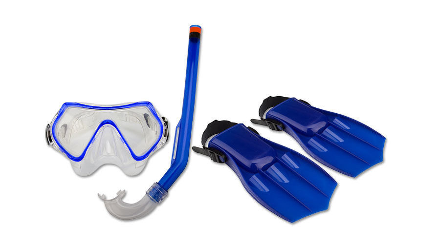 i-waimea-zestaw-do-nurkowania-dla-dzieci-maska-fajka-pletwy-niebieski